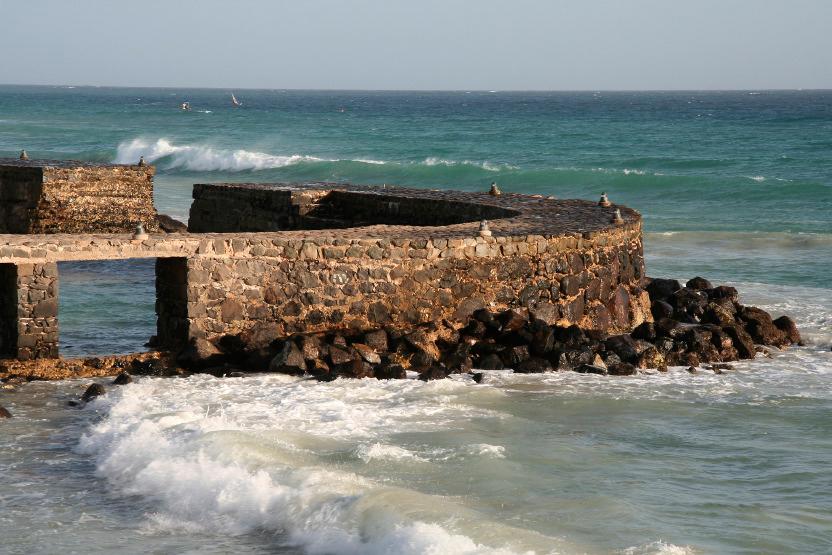 Ruines à Santa Maria
