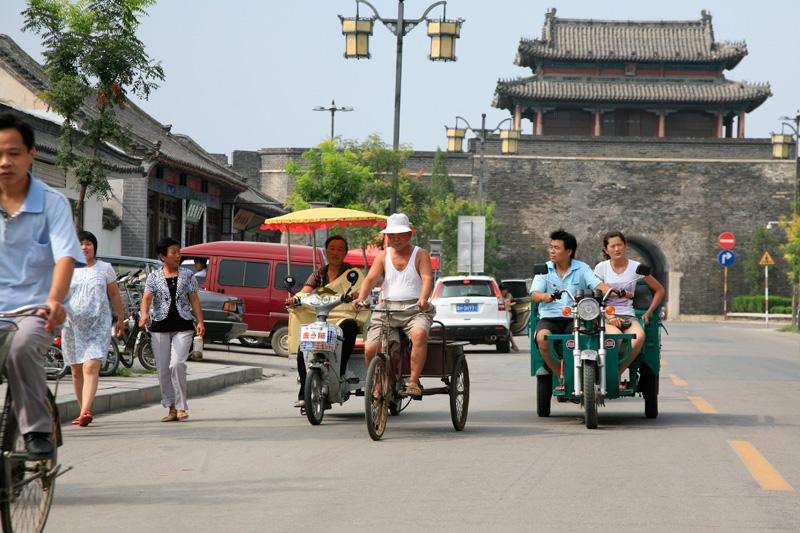 La vieille ville de Qufu