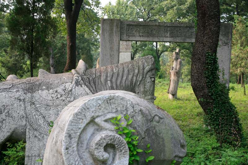 Qufu, le vieux cimetière..