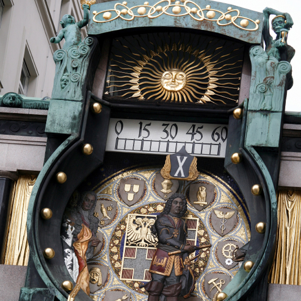 L'Horloge de l'Ancre (Anker Uhr) sur l'Hober Mark