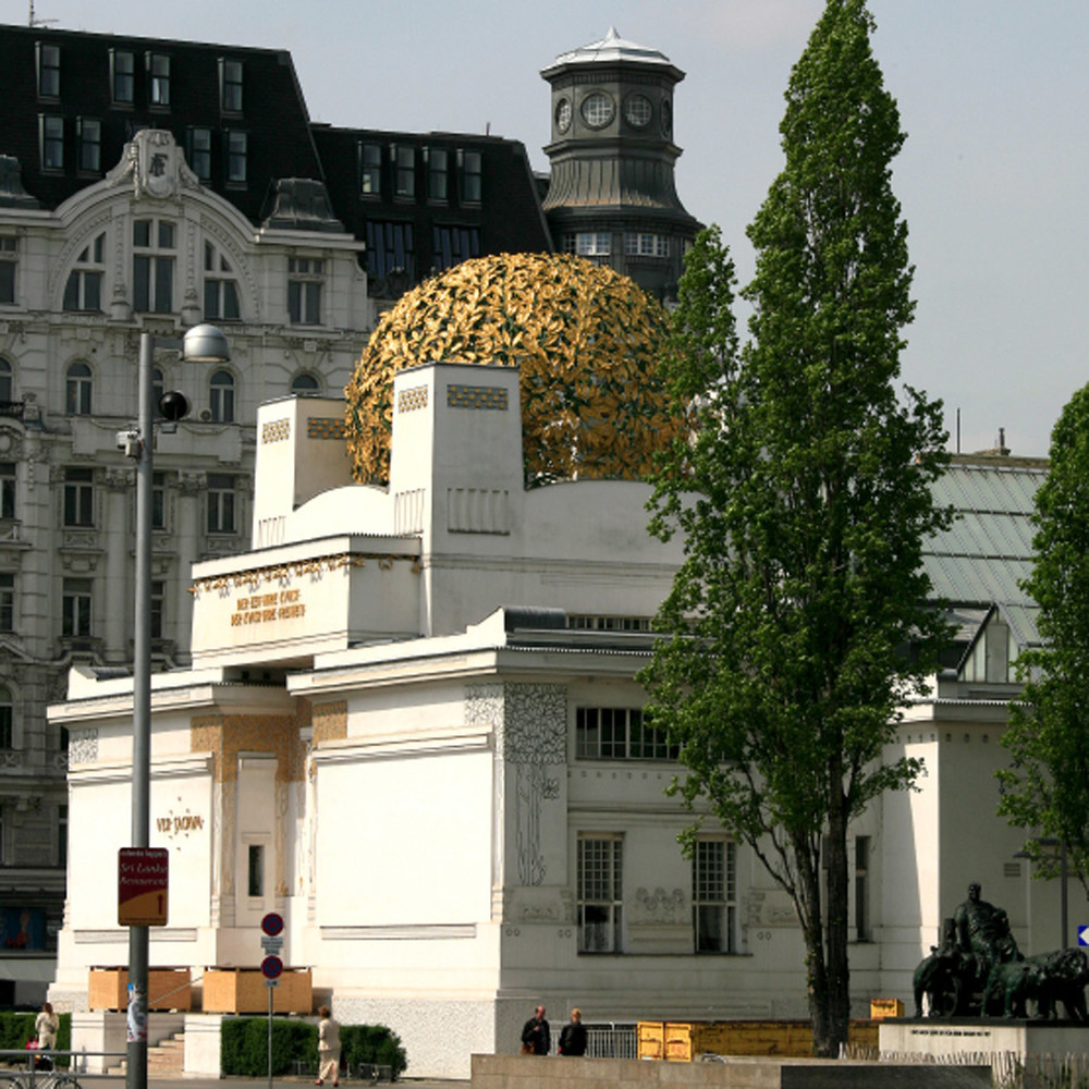 Le palais de la Sécession de Josef Maria Olbrich