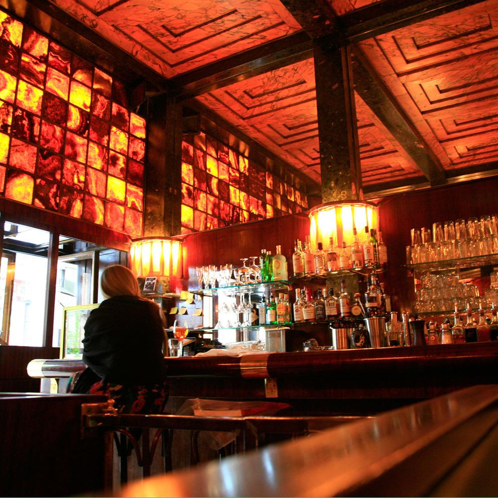 Loos American Bar (1908) par Adolfe Loos