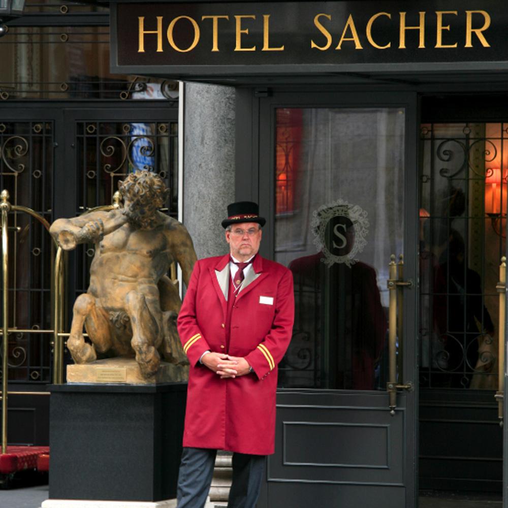 Hôtel Sacher en face de l'Opéra