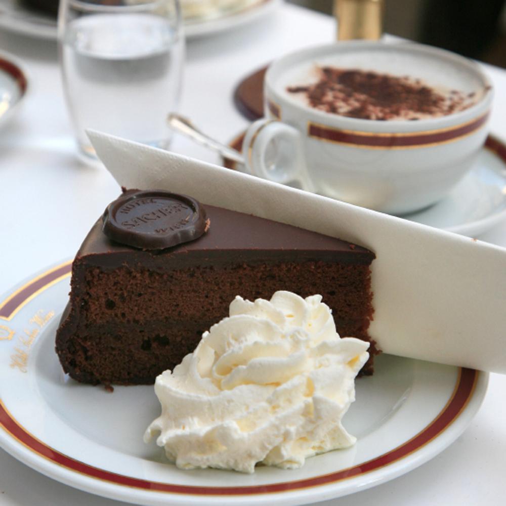 Le célèbre SacherTorte du Café Sacher