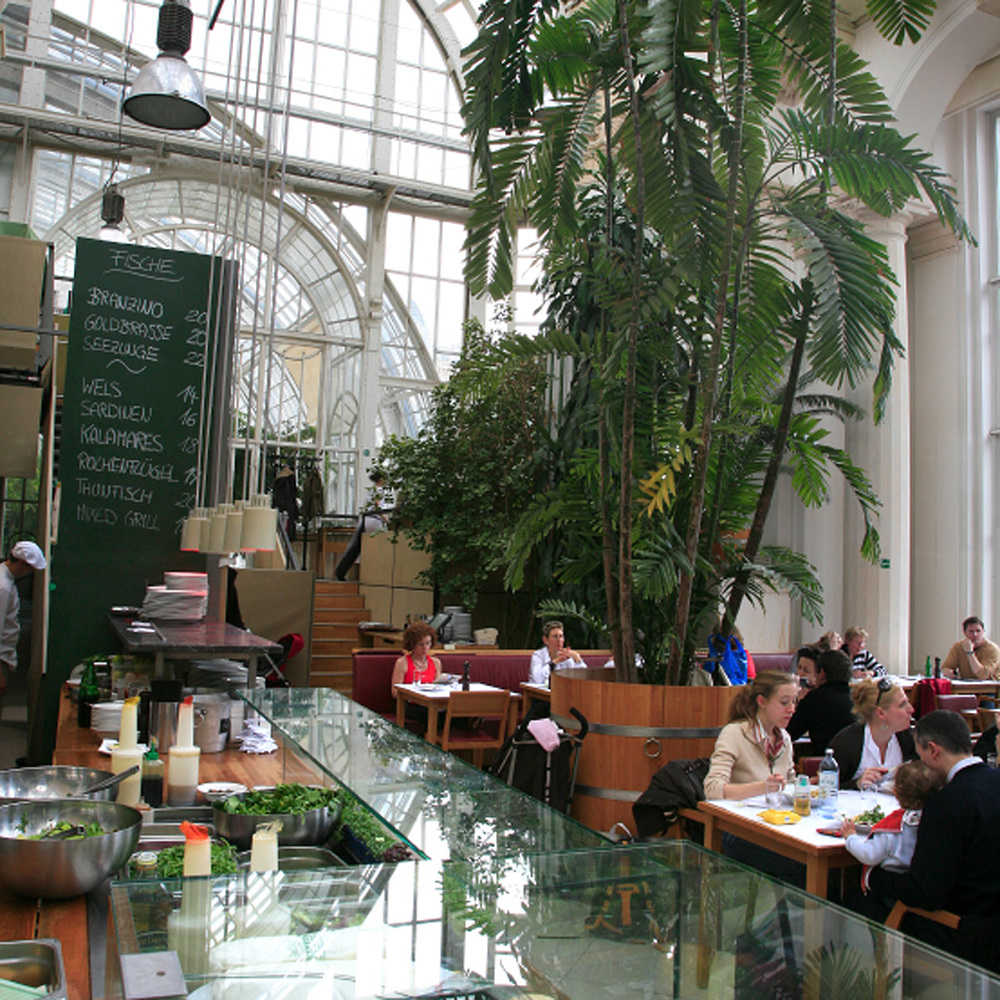 Lunch au Palmenhaus, 21 Burggarten 1 (1er Arr)