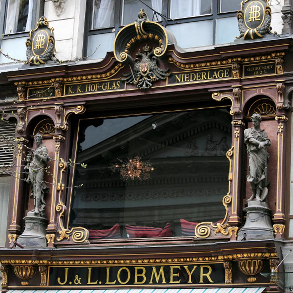 Lobmeyr sur Kärntner Strasse