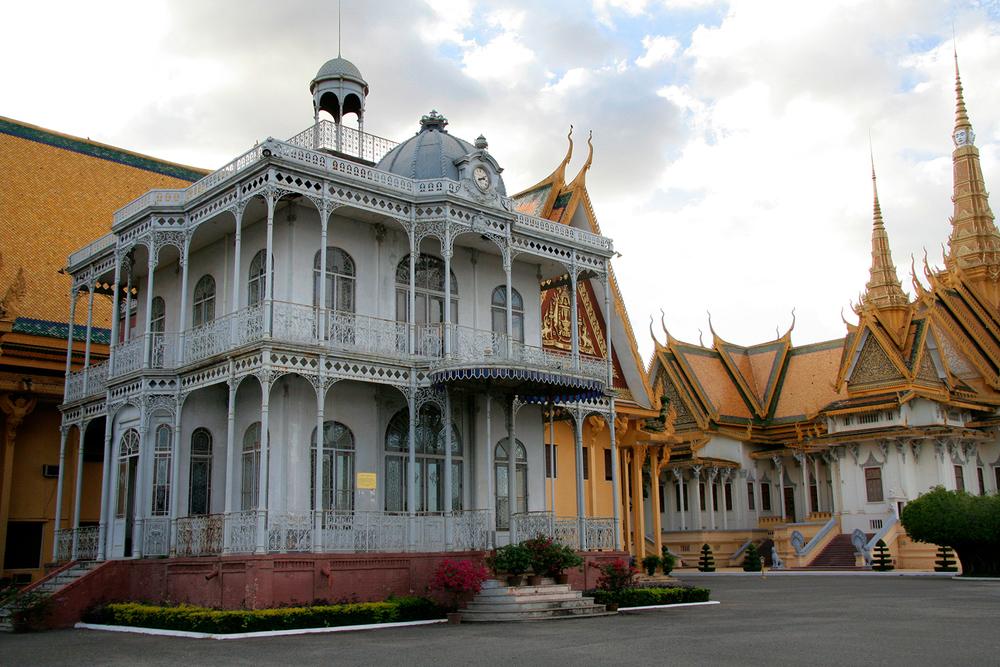 """""""La maison de fer"""" de Norodom"""