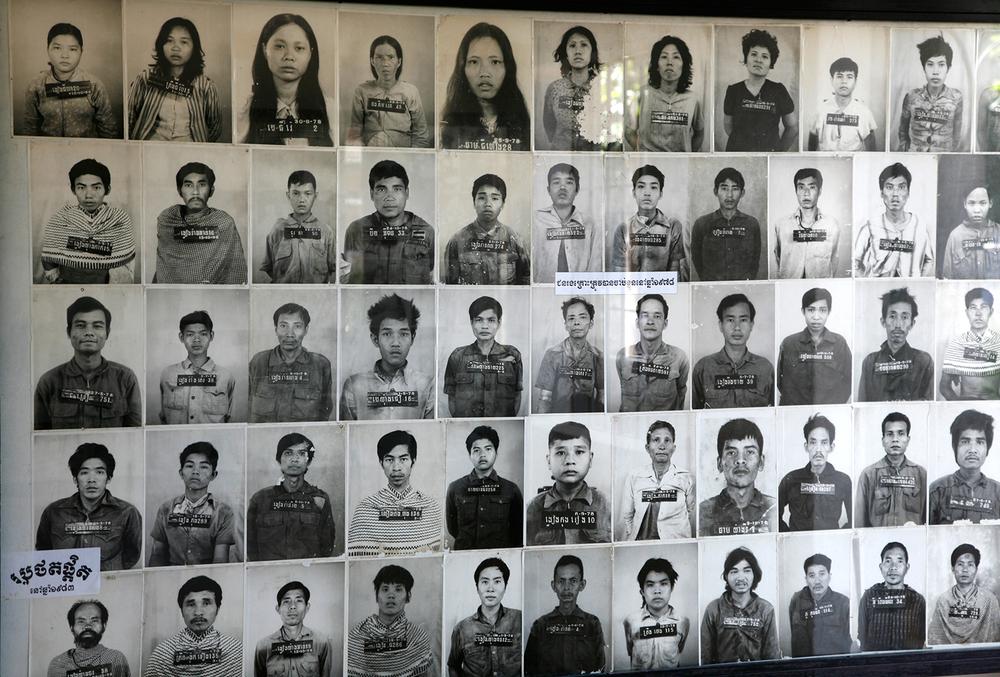 Les visages du Musée Tuol Sleng