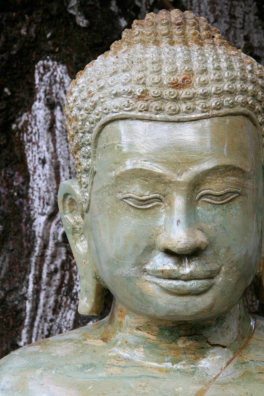 Figure de Bouddha en jade, Palais royal