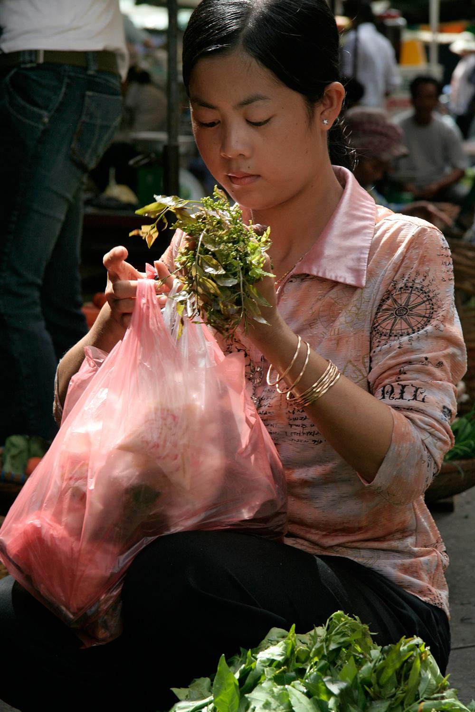 Près du Nouveau Marché (Psar Thmei)