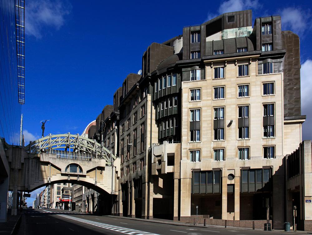 Rue Belliard, l'entrée du quartier européen