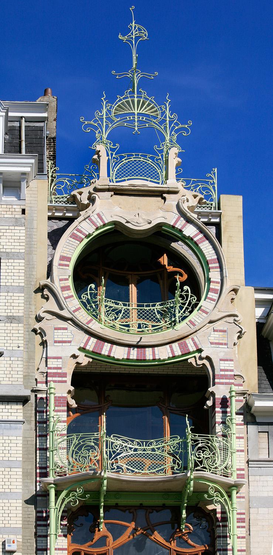 Maison Saint-Cyr, Square Ambiorix, éblouissante