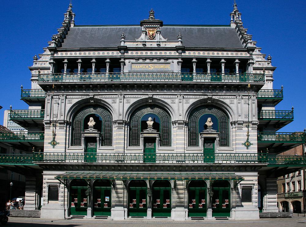 Théâtre Royal Flamand, rénové et fréquenté