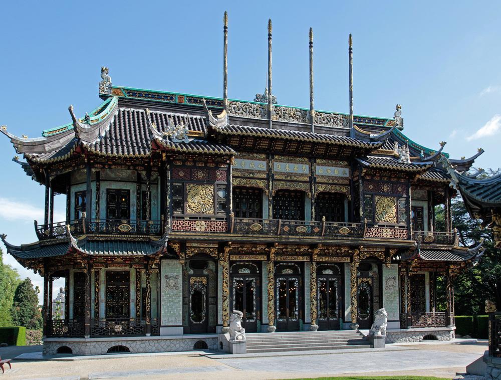 Le Pavillon chinois, restauré