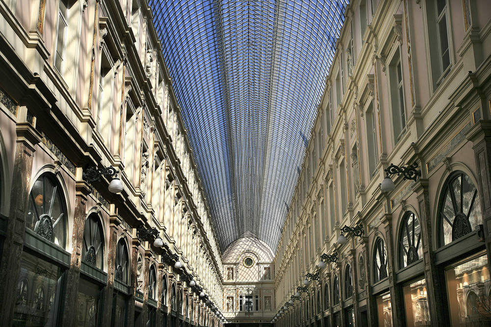 Galeries Royales St Hubert, grandiose