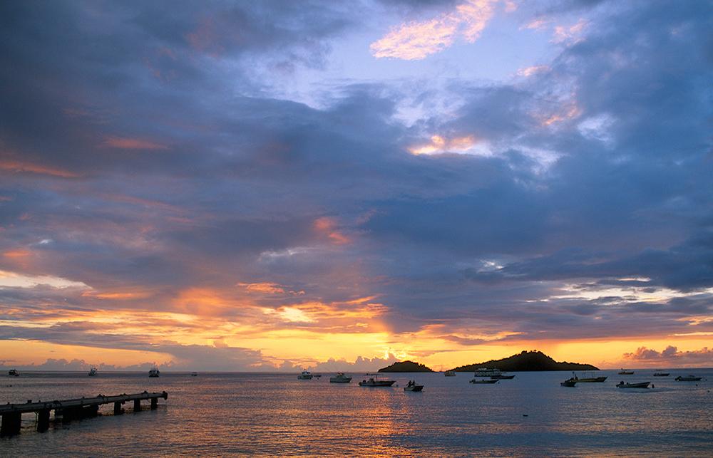 Les îles Pigeon, Malendure, Guadeloupe