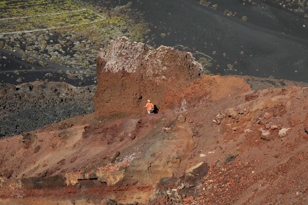 Paysage à couper le souffle sur le volcan Tenequia