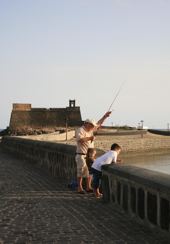 Près du fort de San José, Arrecife