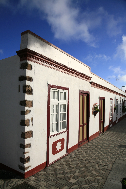 Architecture des petits villages de La Palma