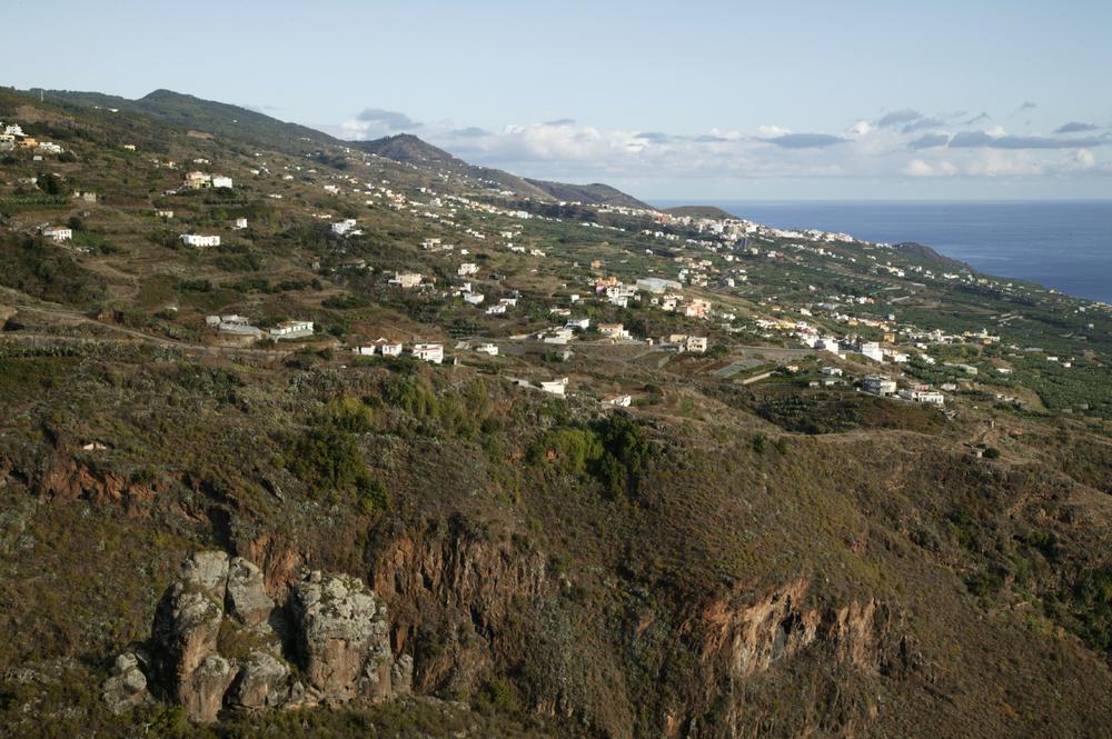 Vue du Mirador de San Bartolo, La Palma