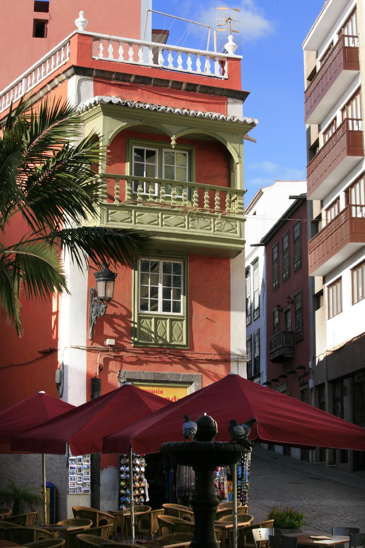Santa Cruz capital de La Palma