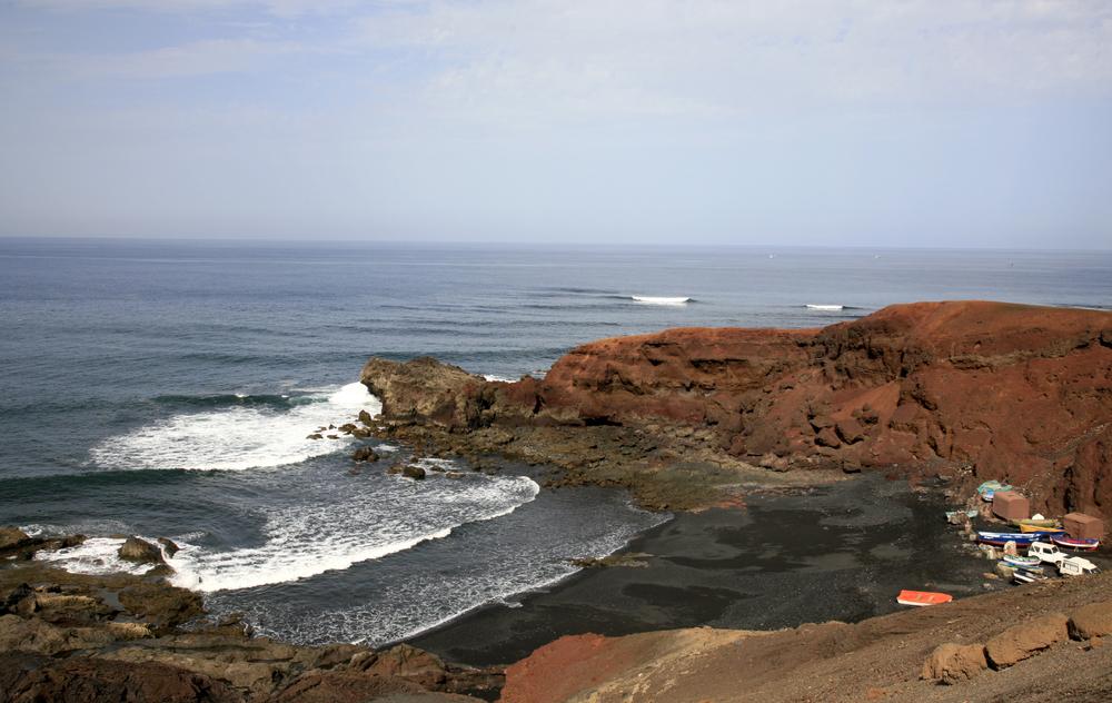El Golfo, non loin de Timanfaya