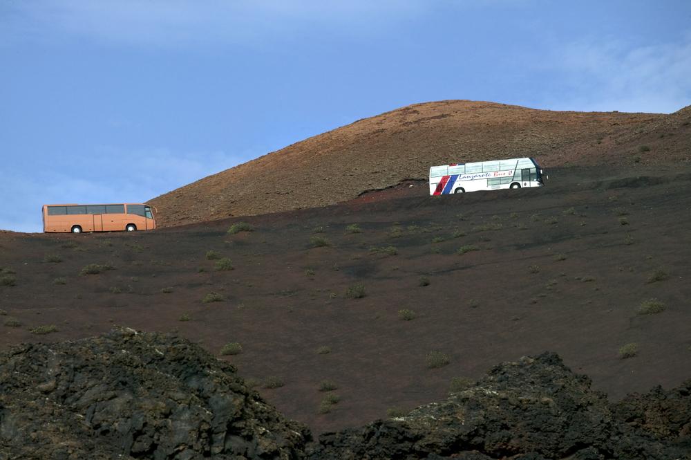 Paysages volcaniques de Timanfaya