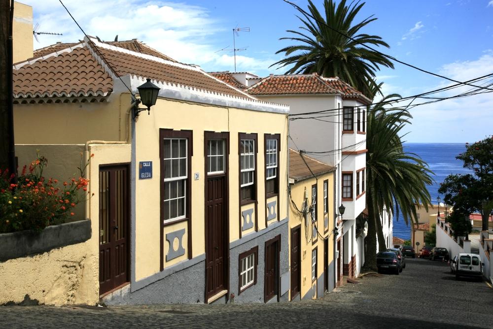 Au village de San Andres, La Palma