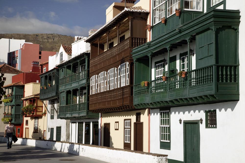 Maisons typiques de Santa Cruz de La Palma