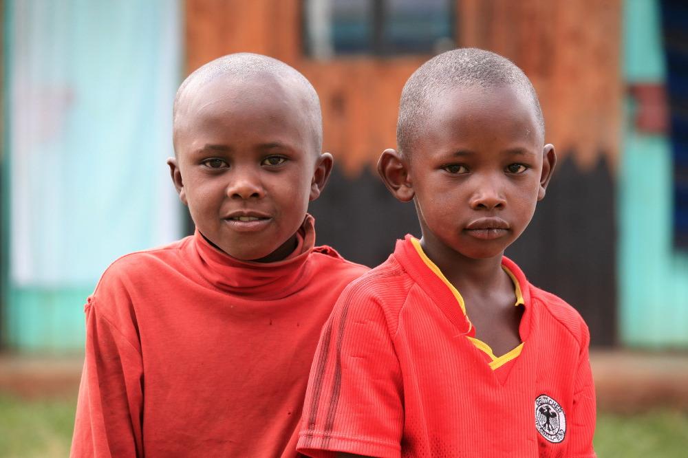 Enfants Londiani Kalenjin