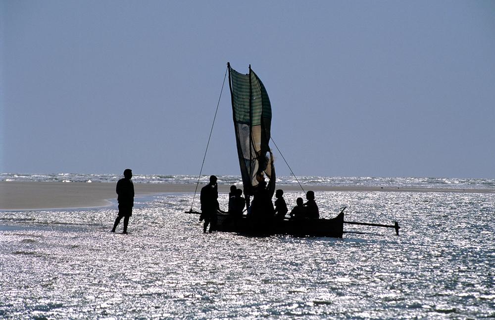 Pirogue à balancier de Madagascar