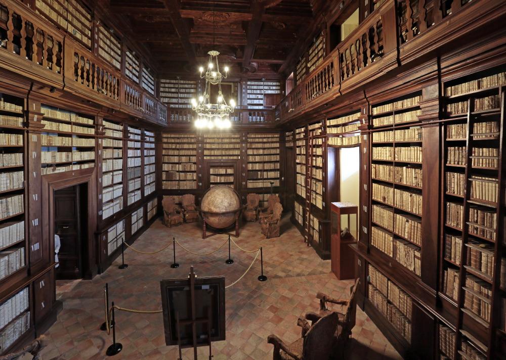 Salle de la Mappemonde, Palais des Prieurs, Fermo