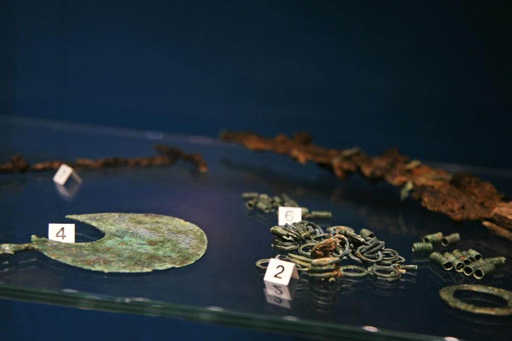 Bijoux en bronze des Picènes, Musée du Palais des Prieurs