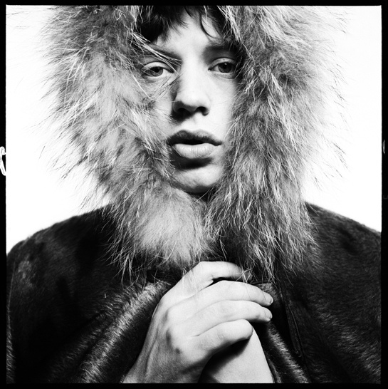 Mick Jagger par David Bailey