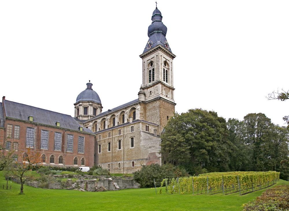 Abbaye Sint-Pieter, jardin public, salles d'expos...