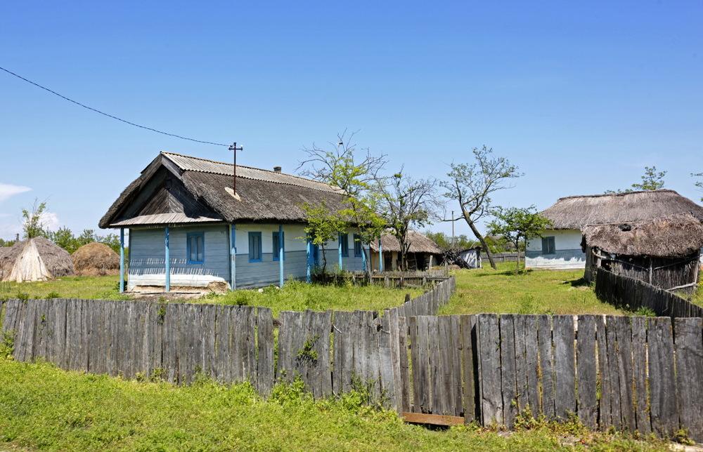 Letea, le  village lipovène