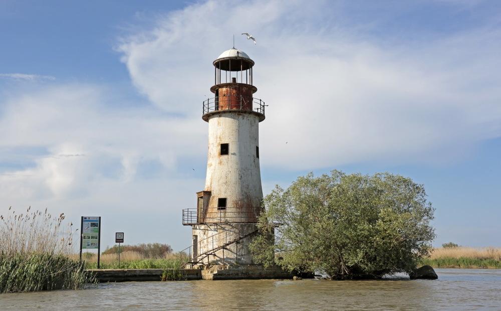 Le vieux phare de Salina