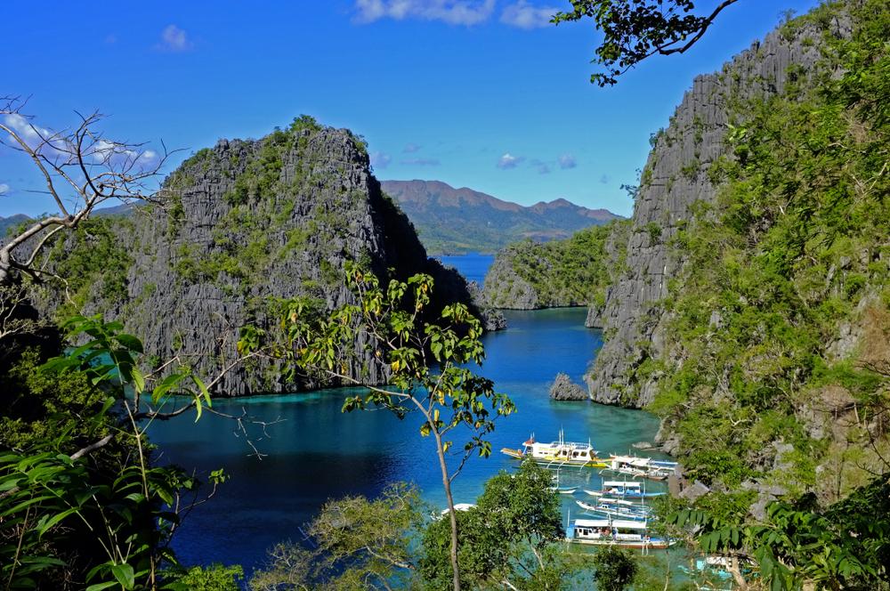 Barracuda Lake, Coron, Palawan, Philippines