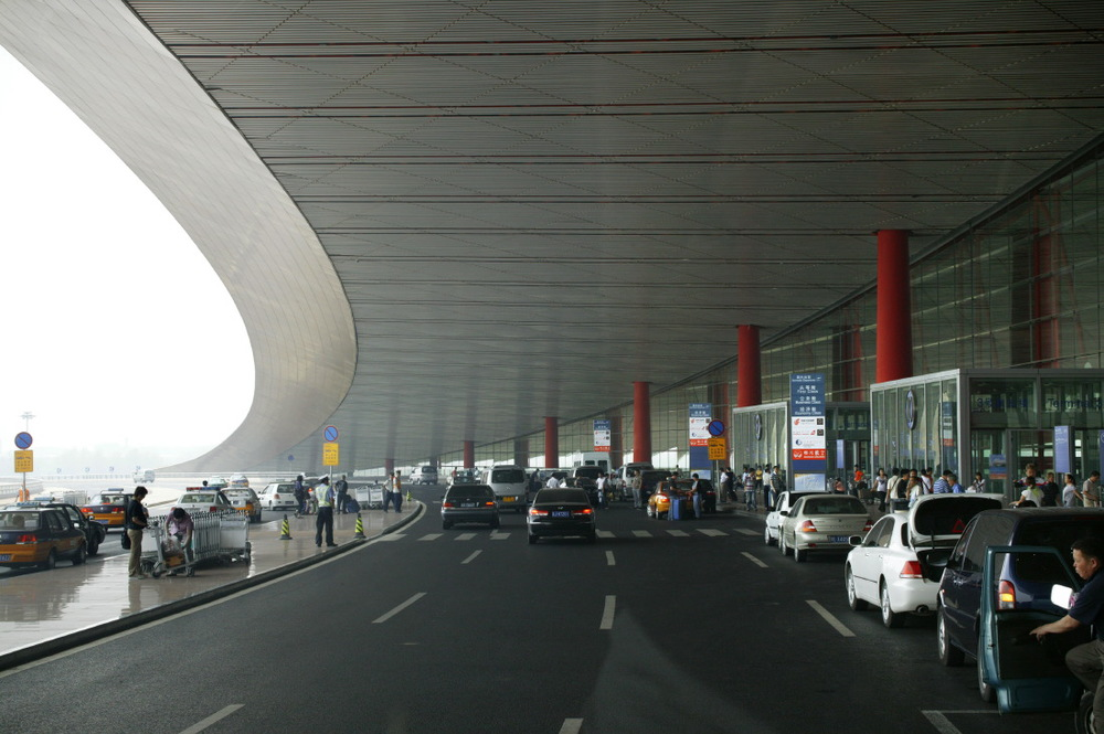 Beijing Internatonal Airport, by Norman Foster