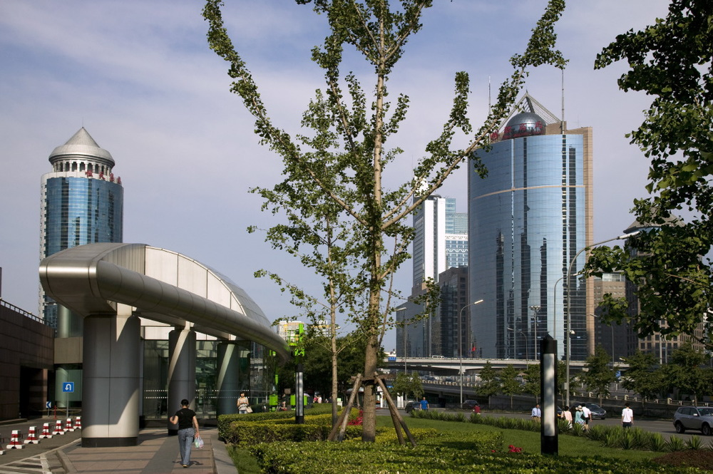 Onward Science & Trade Centre 1 Complex along Jianguomenwai Avenue