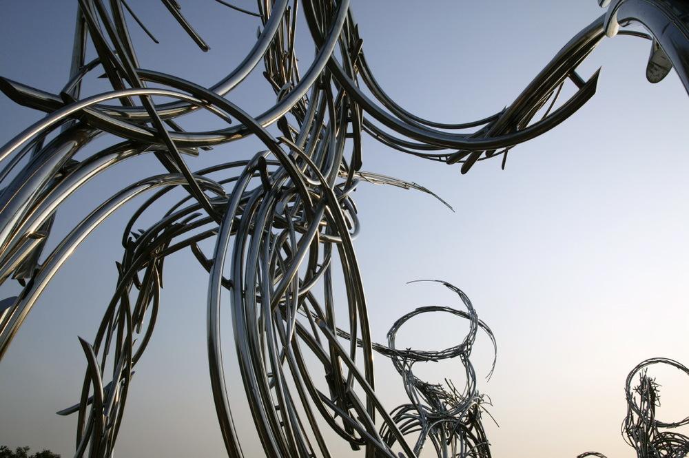 Sculpture d'Olivier Strebelle