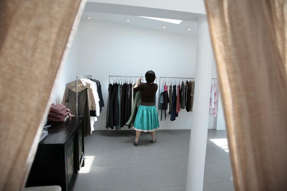 Petites boutiques de créateurs dans Nanluoxiang