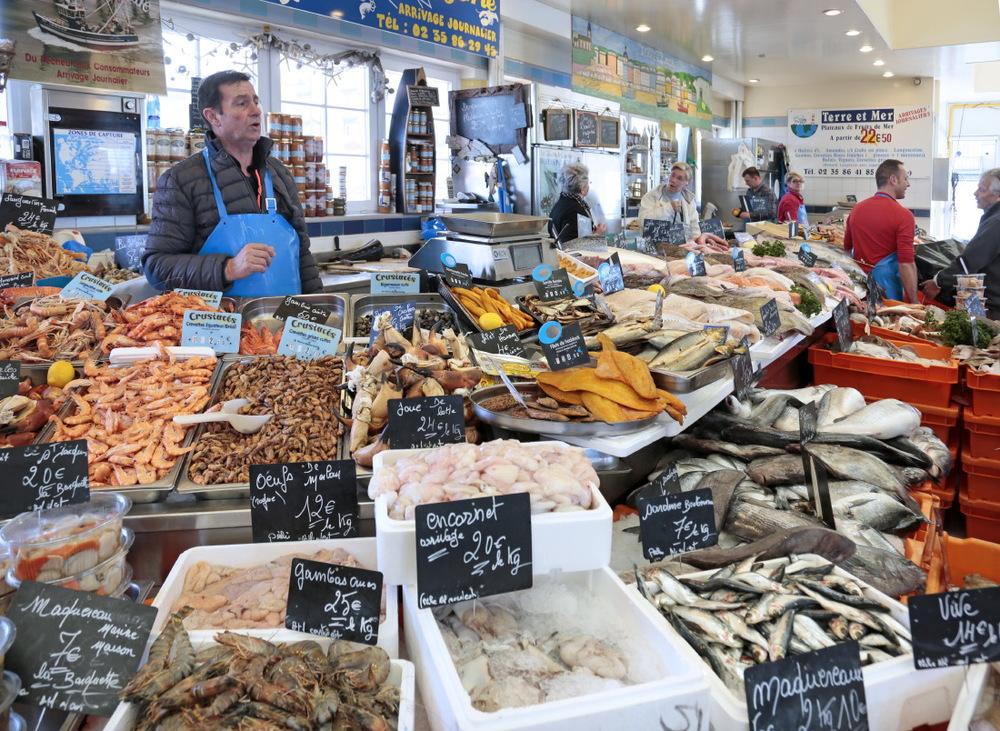 Marché aux poissons, Le Tréport