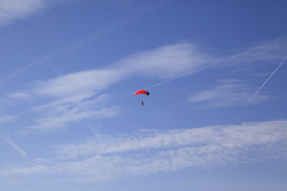 Dans le ciel de l'aéroclub de Blanc