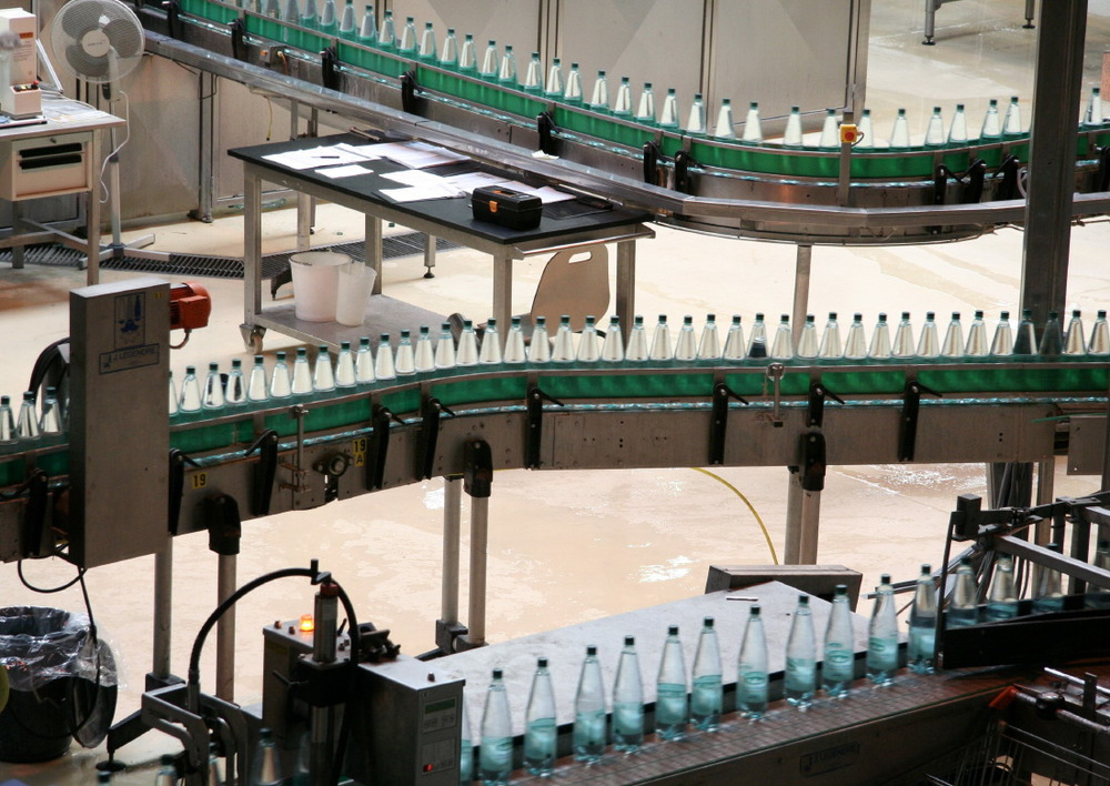 Dans l'usine de l'Eau de St Alban