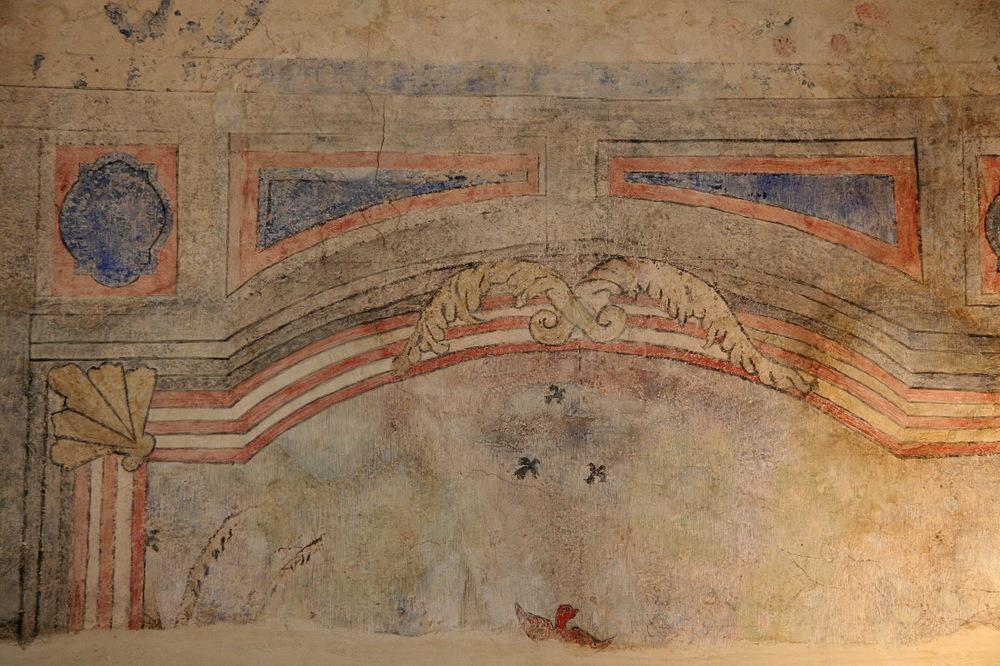 Fresque au 'Le Petit Louvre', La Pacaudière