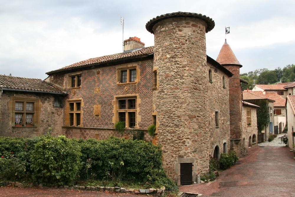 Village médieval Le Crozet
