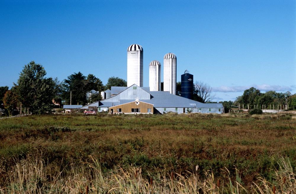 Impressionnantes fermes en Ontario