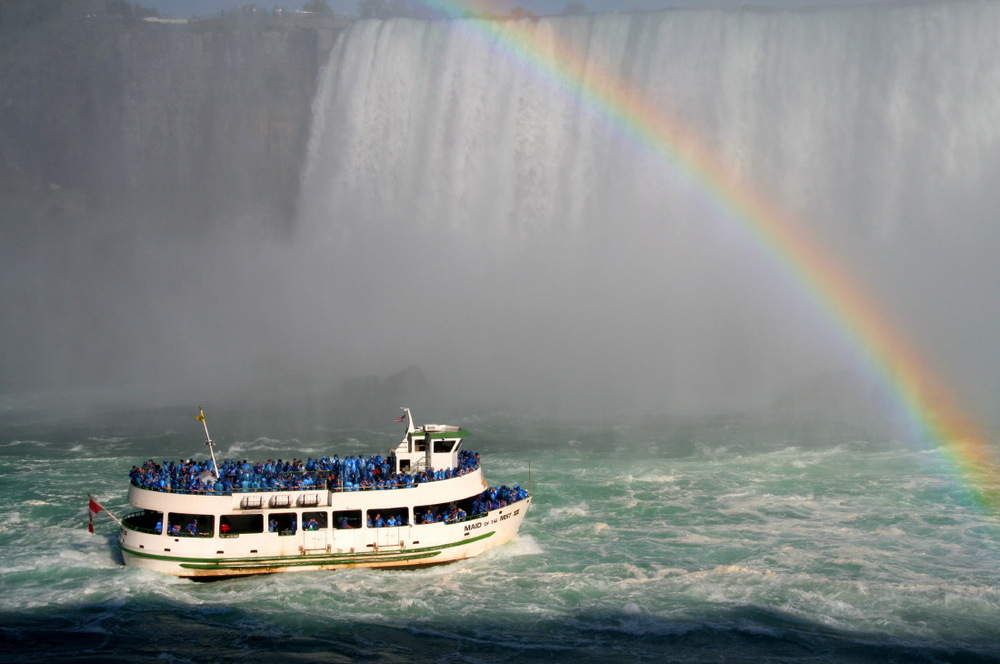 A bord du Maid of the Mist, Niagara Falls