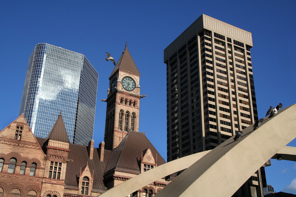 Le vieux City Hall sur Nathan Philips Square